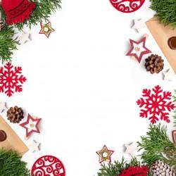 Vánoce - větvičky a ozdoby