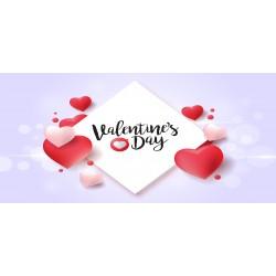 Happy Valentine`s Day 9 - čokoláda 100g (6 ks)