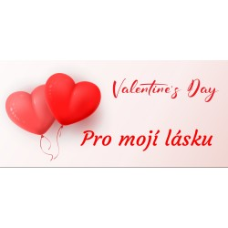 Happy Valentine`s Day 6 - čokoláda 100g (6 ks)