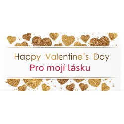 Happy Valentine`s Day 7 - čokoláda 100g (6 ks)