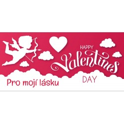 Happy Valentine`s Day 8 - čokoláda 100g (6 ks)