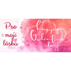 Happy Valentine`s Day 10 - čokoláda 100g (6 ks)