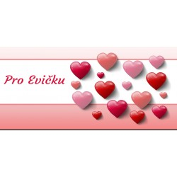 Happy Valentine`s Day 11 - čokoláda 100g (6 ks)