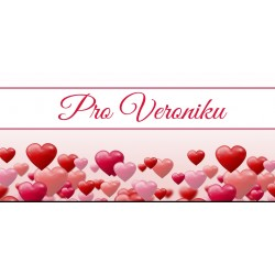 Happy Valentine`s Day 12 - čokoláda 100g (6 ks)