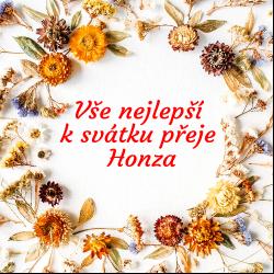 Rámeček - suché květy žluté+modré