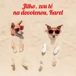 Pejsek - Zvu tě na dovolenou