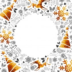 Vánoce - rámeček 1