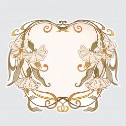 Květiny - secese 2