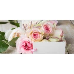 Růže - čokoláda 100g (6 ks)