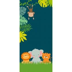 Zvířátka v pralese - čokoláda 100g (6 ks)