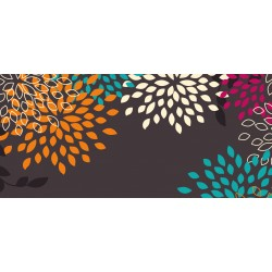 Barevné květy 2 - čokoláda 100g (6 ks)