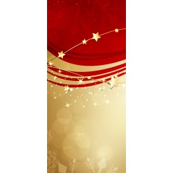 Vločky a zlaté hvězdy - čokoláda 100g (6 ks)