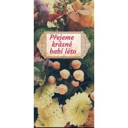 Čokoláda 100g - květy akvarel (6 ks)