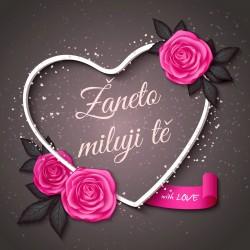 Valentýn - srdce - with love