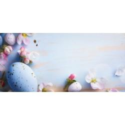 Velikonoce - vajíčka a květy - čokoláda 100g (6 ks)