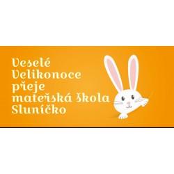 Velikonoce - zajíček - čokoláda 100g (6 ks)