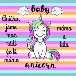 Jednorožec - baby unicorn